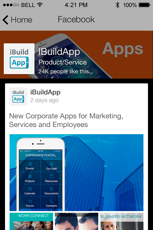 Facebook for Business App Features