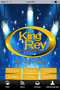 King Rey Productions App Templates