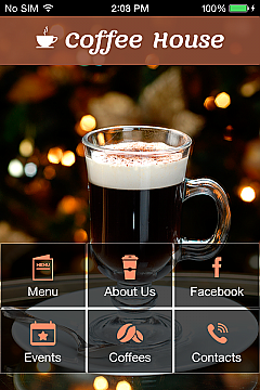 Coffee House App Templates