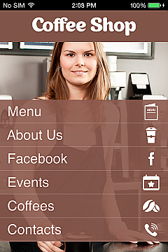 Coffee Shop App Templates