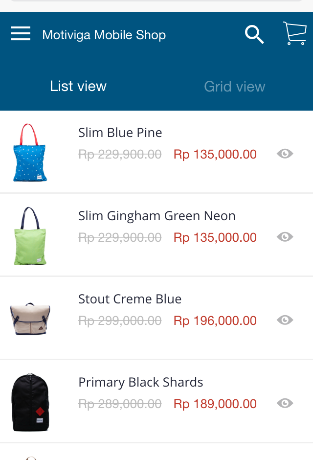 mobile_commerce App Features